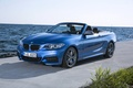 Picture convertible, M235i, blue, F23, coast, BMW