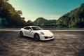 Picture Carrera, White, Landscape, Supercar, 911, Porsche, Mountains