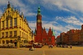 Picture Wroclaw, town hall, Poland, Breslau, Wroclaw, home, area