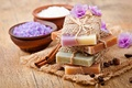 Picture flowers, soap, relax, soap, Spa, coffee, lavender, spa, salt, natural, salt