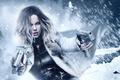 Picture Girl, Kate Beckinsale, Action, Fantasy, Beautiful, Winter, Warrior, Hybrid, Snow, White, Female, Guns, Women, Vampire, ...
