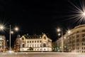 Picture street, night, Austria, lights, Vienna, Vienna