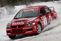 Picture Evolution, Mitsubishi, Rally, Lancer, Red, Snow, Race
