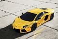Picture Lamborghini, Sports car, Gold, Gold, Aventador, Auto, Tuning, Machine