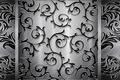 Picture pattern, vintage texture, grey, steel, black