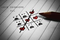 Picture love, strip, romance, heart, pencil, love, stripes, hearts, romance, pencil, crosswords, crosswords