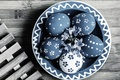 Picture flowers, bowl, eggs, holiday, Easter, eggs, Board, Easter, grille