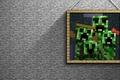 Picture picture, creeper, Minecraft, minecraft, stone, creeper