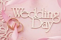 Picture flowers, flowers, wedding, day, ring, ring, lace, pink, soft, wedding, background