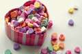Picture macro, colorful, box, heart, hearts, love, sweet, the sweetness, love, box