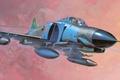 Picture figure, F-4E, the plane, art, phantom, fighter