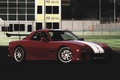 Picture Mazda, 7, RX-7, tuning, strips, red, Machine, RX7, white, tuned, Parking, Mazda, drift, color, tuner, ...