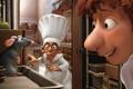 Picture Ratatouille, rat, Remy, Linguini, Zivoder, pantry, Ratatouille, cartoon, situation