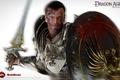 Picture Sword, Grey Warden, Dragon Age: Origins, Grey Warden, Warrior, Shield