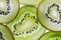 Picture slice, macro, kiwi