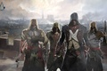Picture sword, Assassin's Creed: Unity, axe, assassins, gun, art