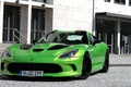 Picture green, viper, dodge, geigercars
