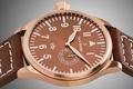Picture watch, Brown, Jack Pierre, bronze, copper