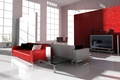 Picture living room, sofa, window, table, Studio, TV