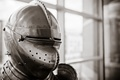 Picture helmet, metal, armor, background