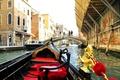 Picture Venice, gondola, channel, Italy, the city