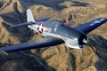Picture over Chino, F6F-3, Hellcat, Grumman