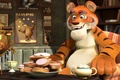 Picture Mouser, tiger, Masha and the bear, The animated series