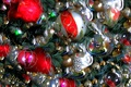 Picture rendering, tree, new year, decoration, balls, Christmas