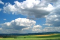 Picture Greens, Clouds, Field