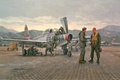 Picture Mission from, pilots, Samolet, repair, Taegu by Gil Cohen, people