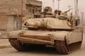 Picture main battle tank USA, Abrams, M1 Abrams, the crew