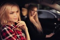 Picture auto, smile, girls, Alla Emelyanova, Alena Emelyanova, Ivan Gorokhov