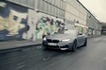 Picture Cabrio, graffiti, car, machine, road, speed, BMW
