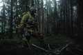 Picture camouflage, soldiers, mask, infantryman, sniper rifle, forest, sniper