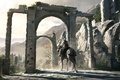 Picture Assassins Creed, gate, rider, ruins