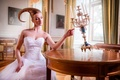 Picture hairstyle, candles, girl, art, Smart Object, Life They Will Treat Guests
