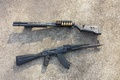 Picture weapons, Kalash, pump, Remington 870, the gun, machine
