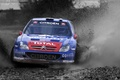 Picture Water, Auto, Blue, Sport, Machine, Logo, The hood, Day, Citroen, Squirt, WRC, Rally, Rally, The ...