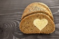 Picture love, heart, bread, love, cakes, romantic, sweet