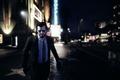 Picture Michael, Vinewood, GTA 5, Boulevard, Los Santos.