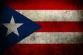 Picture color, flag, Puerto Rico