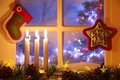 Picture Xmas, New Year, snow, candle, winter, Merry, lantern, Christmas, window, Christmas, light, decoration