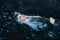 Picture grass, girl, flowers, makeup, Bella Kotak, A river flows in you