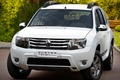 Picture white, crossover, compact, the front, Duster, Renault, Reno, duster