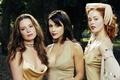 Picture Rose McGowan, Charmed, Rose McGowan, Alyssa Milano, enchanted, actress, Alyssa Milano, Holly Marie Combs, Holly ...