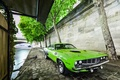 Picture Car, Muscle, 1971, Barracuda, Plymouth, Green, USA