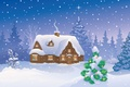 Picture snow, snow, Merry Christmas, Merry Christmas, new year, winter house, winter home, new year, Christmas ...
