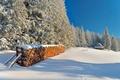 Picture the sun, Tatras, snow, winter, day, stack