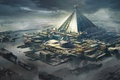 Picture pyramid, mereen spaceport, game of thrones redesign