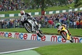Picture suzuki, yamaha, jump, motorcycle, superbike, motorbike, big air, cadwell park, british superbike